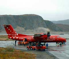 Air Greenland Flieger